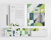 Modern Green Architecture Stationery