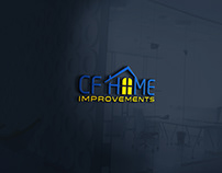 Logo Design -CF HOME IMPROVEMENT