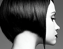 Black The Salon May/June 2010 Print Ad/Web Banner