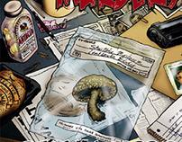 The Mushroom Murders comic book series