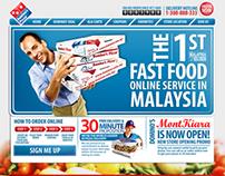 Domino's Pizza Malaysia - Web Revamp (2009)