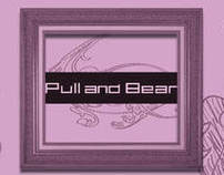 "Folleto de moda""Pull and Bear"""