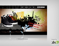 Converse Website Interface