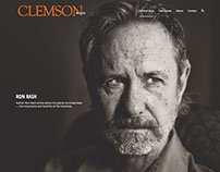 Clemson World magazine website