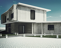 -3DS MAX-   S-HOUSE