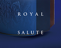 ROYAL SALUTE - packaging design