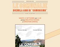 """«Locandina» Le Comunalie - Duemila anni di """"comunismo"""""""