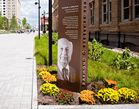Perelman Plaza Donor Recognition