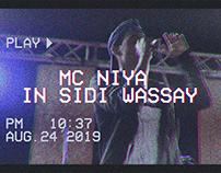 MC Niya in Sidi Wassay Festival