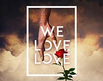 we love love.