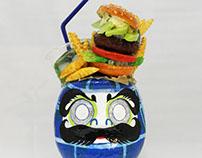 avocado burger daruma/アボカドバーガーだるま
