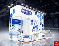 "Exhibition stand for company ""Henco"""