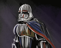 Captain Phasma Chrome Stormtrooper