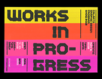 Works in Progress CalArts Graphic Design Program Show