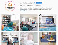 Social Media Copy Examples for Ashley HomeStore