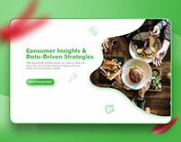 Website Landing Page for Restaurant Digital Solution.