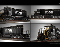 Norfolk Southern Freight Locomotive