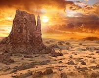 Canyon Sunset LAndscape