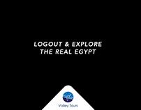 Logout & Explore Egypt