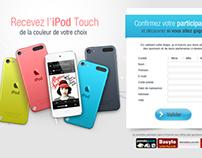 Jeu-concours iPod
