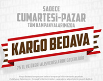 Kargo Bedava mailing - Free Shipping mailing