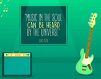 """Music in the soul can be heard by the universe."""