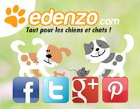 Edenzo - boutique en ligne pour chiens & chats