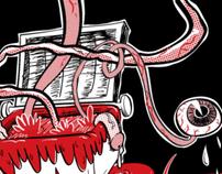 """Blood Dumpster """"Junk Blob"""" Tee"""