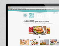 FoodBoard Lesieur - WebSite
