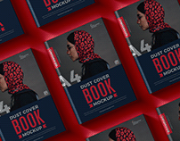 Free Dust Cover Book Mockup
