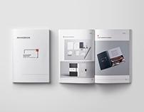 Rebranding for interior design company