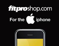 Fitproshop.com Iphone app design