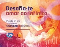 Capa e Livro CD - Desafia-te | Amar ao Infinito