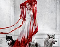 Bloody Riding Hood For Lashmaker Magazine 12