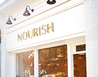 Nourish Cafe Experience Design & Branding
