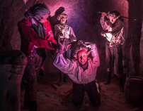 Smugglers Adventure at St Clements Caves, Hastings. UK.