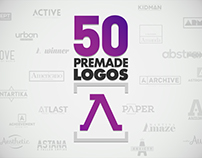 50 Letter A Logos