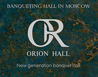 Banqueting hall identity and website concept