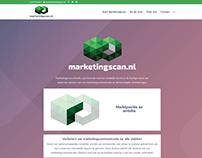 Website met Analyse APP