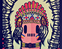 Indio Rojo | Ilustración
