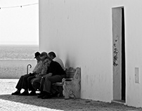 Portugal Black & White Street