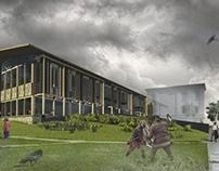 Centrum Kultury Słowian w Płocku - dyplom inżynierski