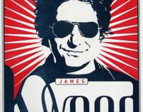 Rockwood Music Hall: James Maddock Concert Poster