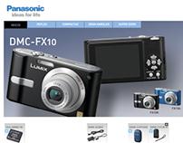 Panasonic España - Lumix microsite