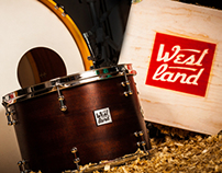 Westland handcrafted drums