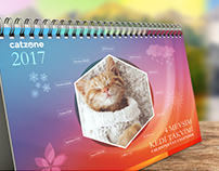 Desk Calendar for Catzone