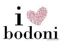 I Love Bodoni