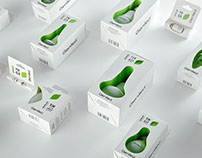 Geniled -Led Bulb Packaging (technical design & photo)