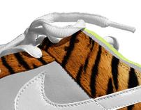 Chinese New Year + Zebra Nike Dunks