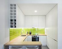 55 sq meters apartment for Triathlete